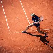 """""""Alexander Waske Tennis University"""" von Jaber AlAzmeh"""