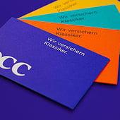 "Content developers: ""Rebranding der Oldtimerversicherung Occ."" from Suan Conceptual Design"