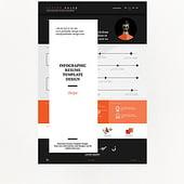 """Infographic Resume/ Infografik-Lebenslauf"" von Jack Balke"