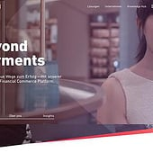 """Wirecard AG – Relaunch Website"" from Veit Schumacher"