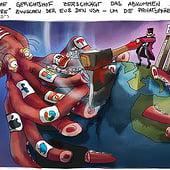 """""""Karikaturen 2020– 3"""" von Stefan Fichtel"""
