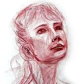 """Live Portrait Study"" von Franklin Ponceoyola"