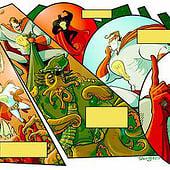 """""""Comic– Illustration"""" von Daniel Stieglitz"""