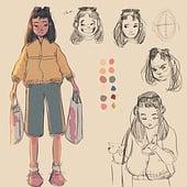 """Character Design 2020"" von Marie Gall"
