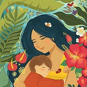 """""""Messages for Moms"""" von Shiila Lippold"""