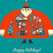 """""""Happy Holidays"""" von Amir Abou-Roumié"""