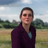 """Antonia: Face UI Acting Stress Test"" von Franklin Ponceoyola"