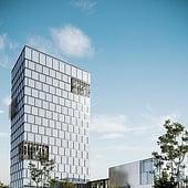 """""""Architekturvisualisierung des Ezmw"""" von Render Vision"""