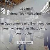 """""""Digitalisierung Gastronomie Eventlocation Messe"""" von 360-up virtual tour marketing"""
