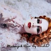 """""""meine Arbeiten"""" von Maskenbildnerin, Visagistin, Hairstylistin & Maquilleuse in…"""