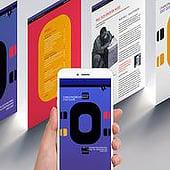 """""""Broschüren Design Web & Print"""" von Werbeagentur Marlene Kern Design"""