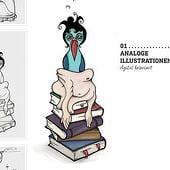 """Portfolio: Fokus Illustration"" von Agnes Raguse"