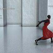 """Dress Simulation Project: Dancer"" von Franklin Ponceoyola"