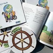 """""""inklusives Klima-Heft für Kinder"""" von Grafikwerkstatt Wuppertal"""