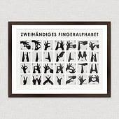"""""""Zweihändiges Fingeralphabet"""" von Iris Luckhaus"""