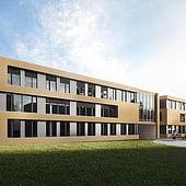 """""""Außenvisualisierung Health Care Center Wiesbaden"""" von Render Vision"""