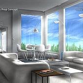 """""""Modern House – Interior, Concept Art"""" von Franklin Ponceoyola"""