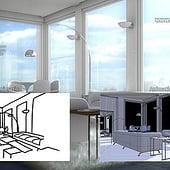 """""""Modern House – Interior, Storyboard"""" von Franklin Ponceoyola"""