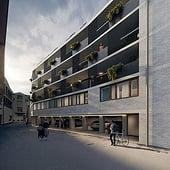 """""""Außendarstellung Boardinghouse Waldkirch"""" von Render Vision"""