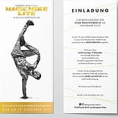 """Designers: """"Magic Mike Live – Kampagnenumsetzung"""" from Anke Thiele"""