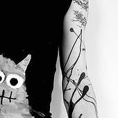 """""""Avantgarde Tattoo"""" von Silket Trunz"""