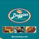 """Werbung – klassische Anzeige, Kunde: """"Doggies Hot Dogs"""" München"""