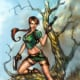 Lara Croft Comic Coloring, lines Andy PArk