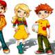 Character Design Entwurf für den Junior Club von Mc Donalds.