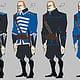 Nacre: Jeroen de Rijk guard uniform ideations
