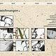 Webseite Maja Nagel, Übersicht Zeichnungen