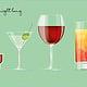 "POSTERMOTIV ""Drinks"" // Eigenprojekt"