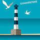 Summertime– Lighthouse– Animation