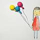 Ballon Mädchen