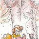 Illustration im Winnie Puuh Stil