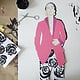 Papercut / Fashion Collage / Prozess