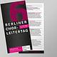 Flyer zum Chorleitertag 2019 (Chorverband Berlin)