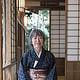 Portraits Frau Mariko Reineke im japanischen Teehaus in Bremen
