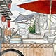 Background Asian Street Food